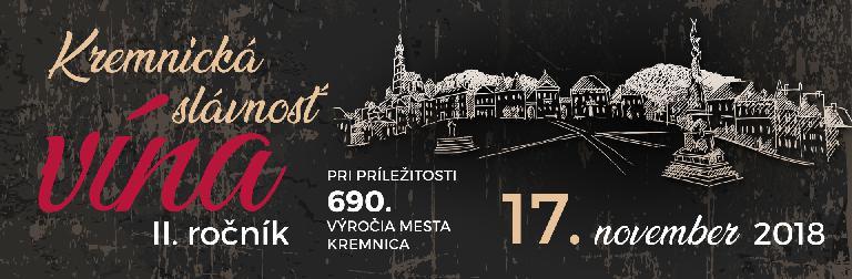 Festival Kremnická slávnosť vína 2018